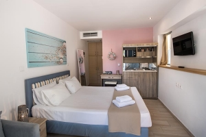 Room A3, Ilianthos, apartments, rooms, Lefkada, hotels, accommodation, vacations, beaches, Mikros Gialos, Rouda, island, Greece